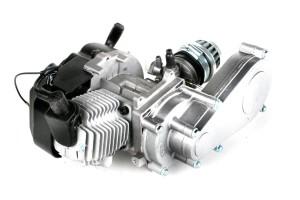 Pocketbike-Test Motor mit Getriebe